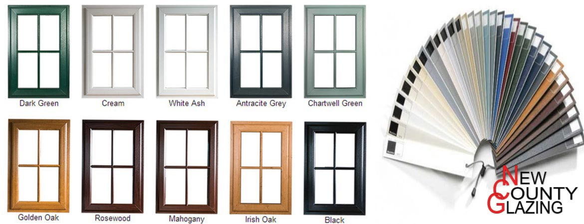 Upvc window colours for Coloured upvc doors